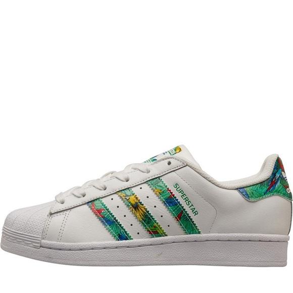 Adidas Original Tropical Aloha Superstar Shell Toe